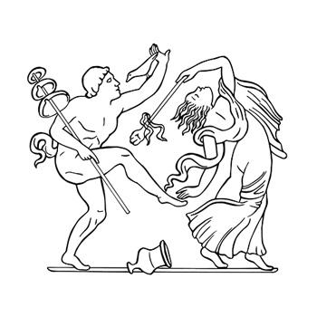 Faun and Maenad