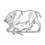 Dionysian bull