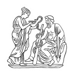 Aesculapius and Hygieia